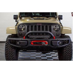 JEEP WRANGLER RUBICON JK 10TH YEAR SPECIAL PRODUCT FRONT BUMPER WITH HORN