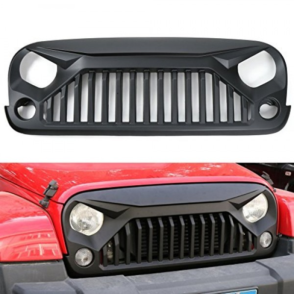 JEEP WRANGLER RUBİCON JK ANGRY BİRDS FRONT GRILLE 2007-2017