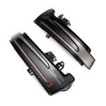 MERCEDES W176-W204-W246-W212-W222-C117-X156-X204-W221-W218 DOOR MIRROR INDICATOR WITH SLIDING LED